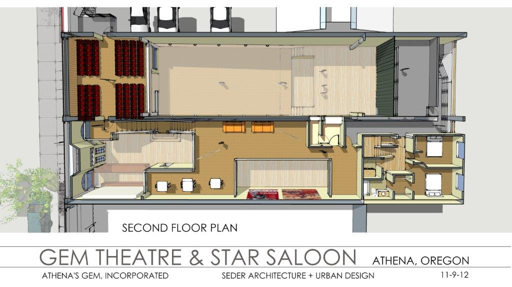 Gem Theatre Second Floor Plan 11-9-12